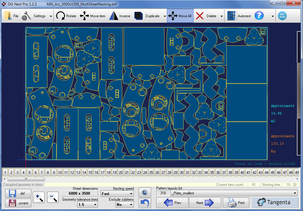 Tangenta Software Ductwork Amp Nesting