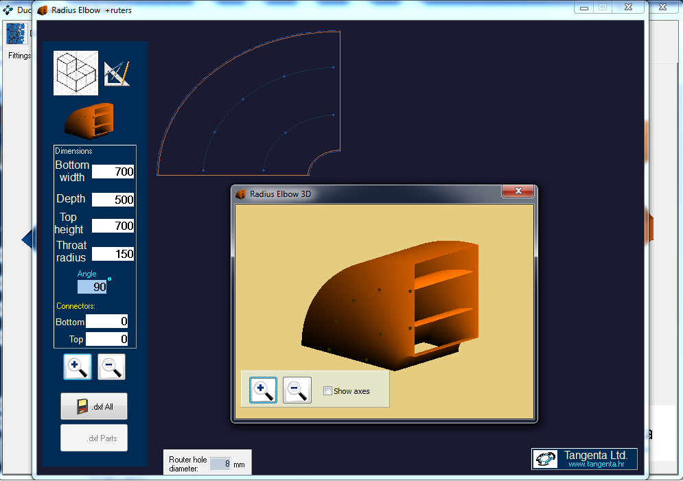 Tangenta Software Automatic Nesting Unfolding 3d To 2d